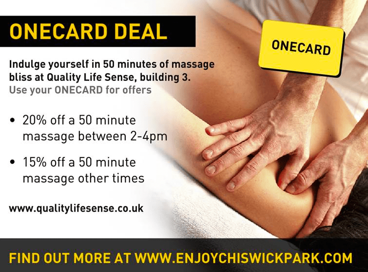 ONECARD 20%off 50 minute massage